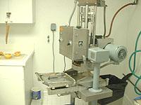 検査室の機械