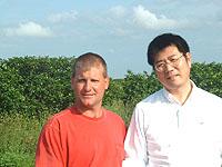 6-WHEELS農園の生産者と紅光
